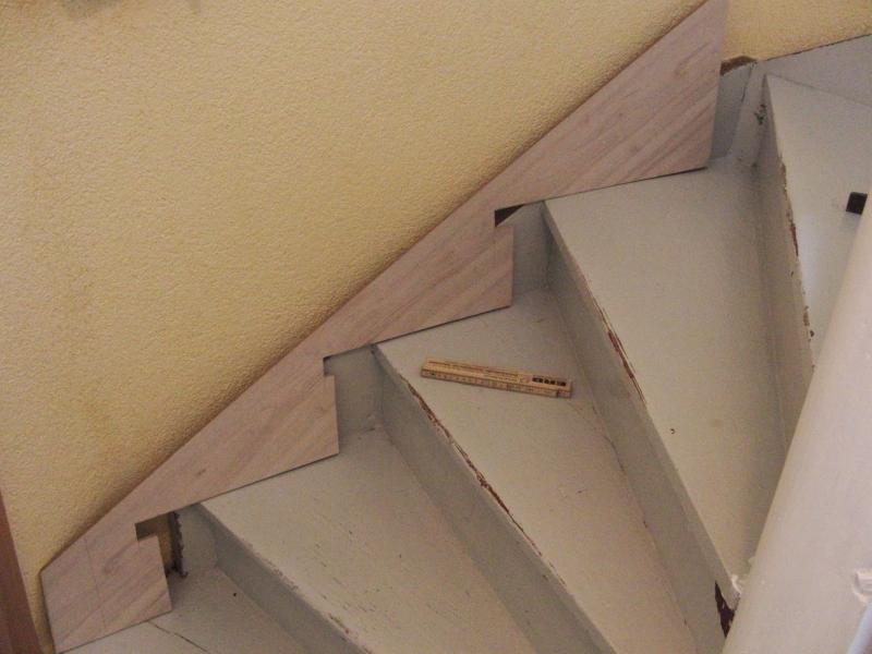 Treppenrenovierung So Werden Die Treppenwangen Verkleidet