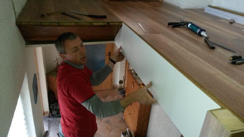 Das treppenauge bei der treppenrenovierung for Treppenauge verkleiden