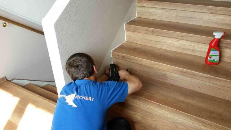 steintreppen renovierung im mehrfamilien haus. Black Bedroom Furniture Sets. Home Design Ideas